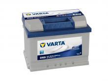 VARTA 60 А/ч Обратный Низкий BLUE D59 (560 409 054)